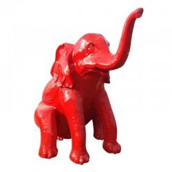 Éléphant XL assis